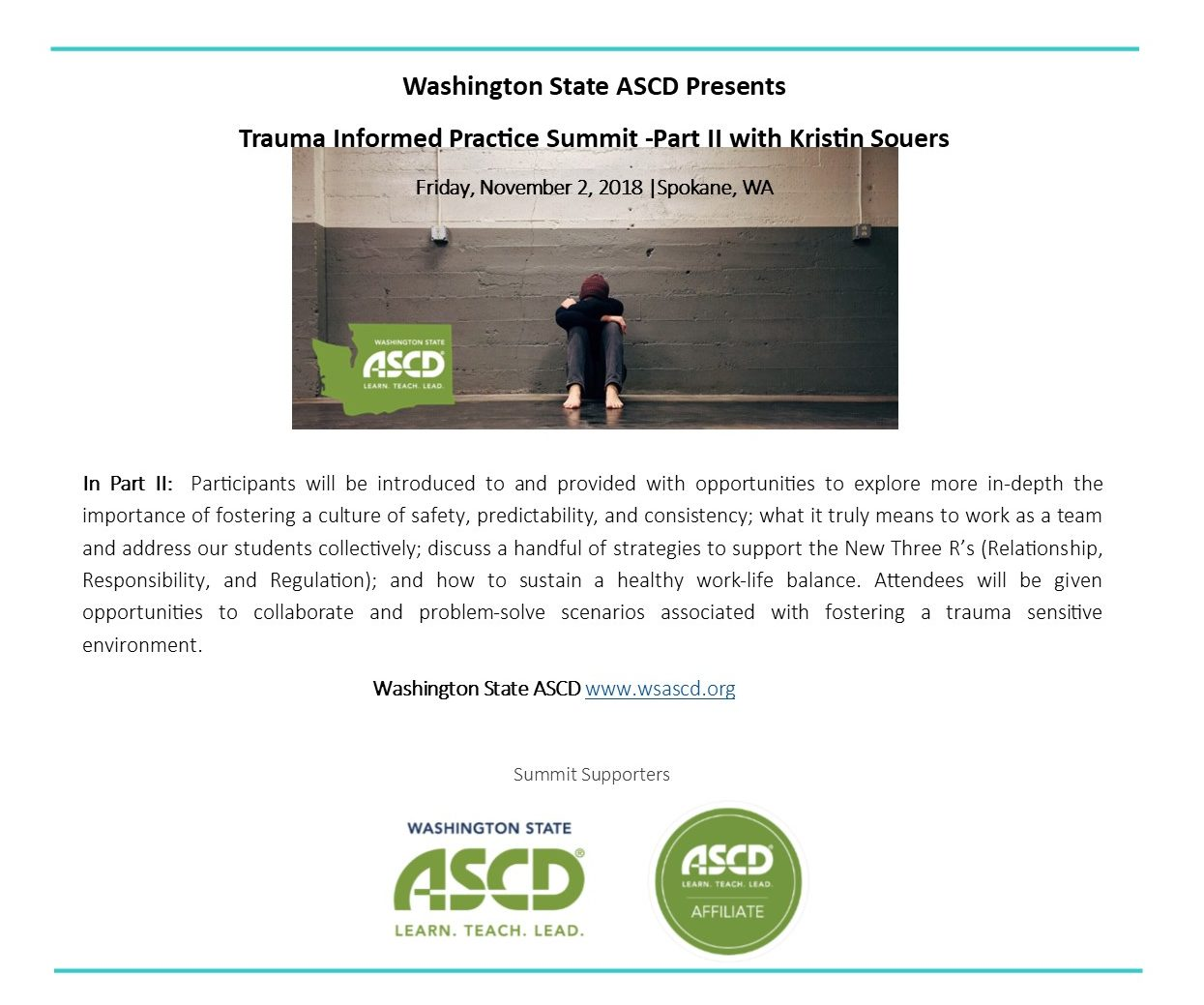 Upcoming Professional Learning Opportunity