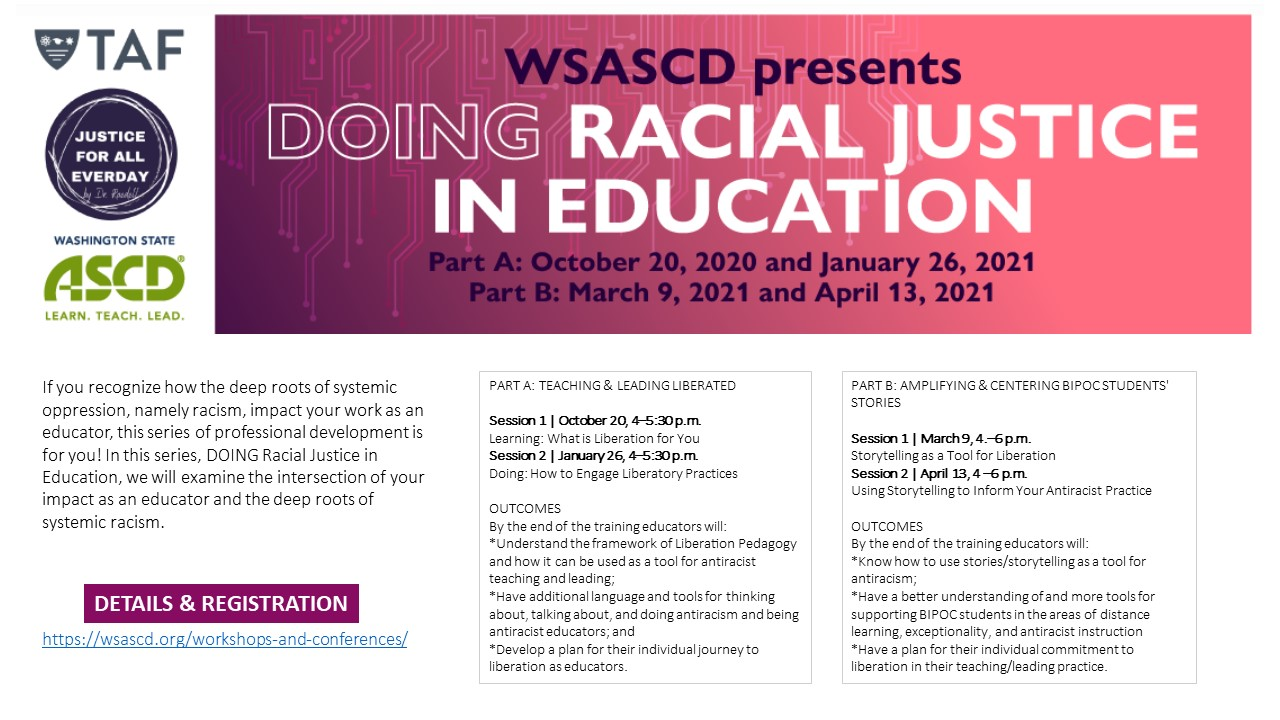 DOING Racial Justice in Education!