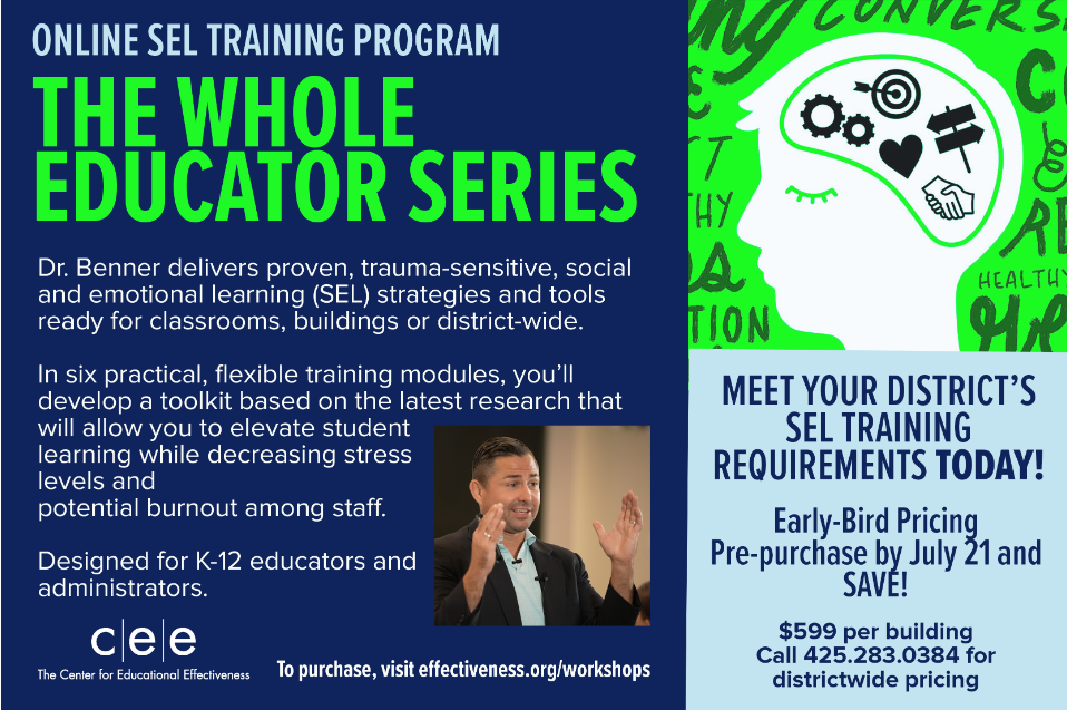 Whole Educator Series w/Dr. Greg Benner